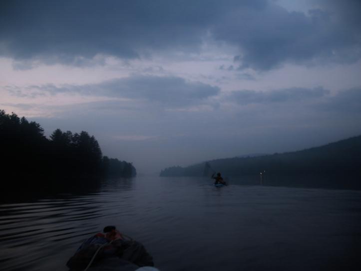 Long Lake NY night kayak